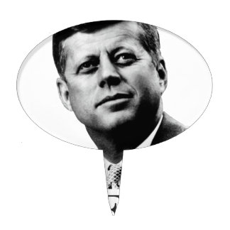 JFK - John F. Kennedy Cake Topper