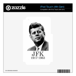 JFK - John F. Kennedy Decals For iPod Touch 4G