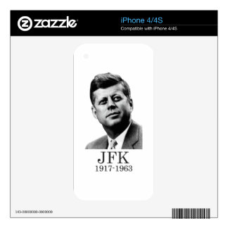 JFK - John F. Kennedy Decals For The iPhone 4S