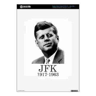 JFK - John F Kennedy iPad 3 Pegatinas Skins