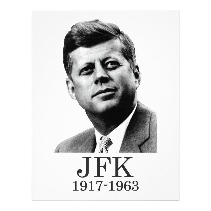 JFK - John F. Kennedy Letterhead