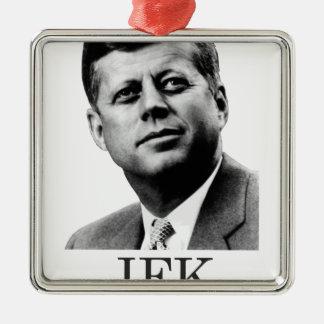 JFK - John F. Kennedy Metal Ornament