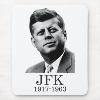 JFK - John F. Kennedy Mousepads