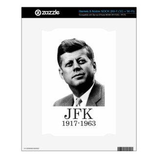 JFK - John F. Kennedy NOOK Decals