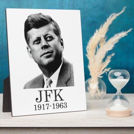 JFK - John F. Kennedy Placas Con Fotos