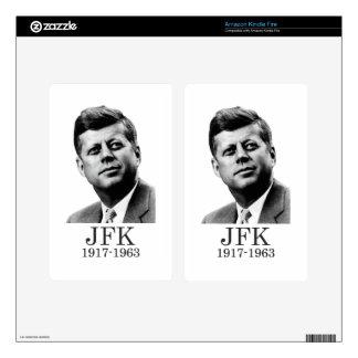 JFK - John F. Kennedy Skin For Kindle Fire