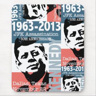 JFK Kennedy Assassination Anniversary 1963 - 2013 Mouse Pad