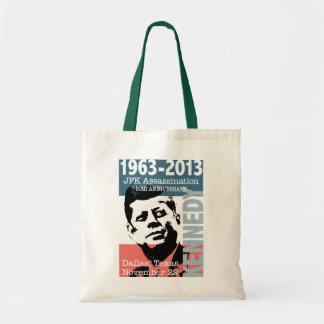 JFK Kennedy Assassination Anniversary 1963 - 2013 Tote Bag