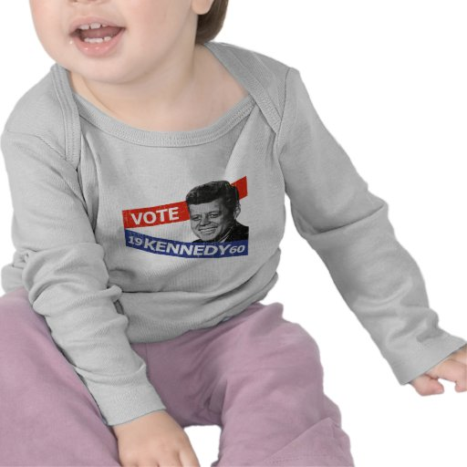 JFK Kennedy Election Tee Shirts