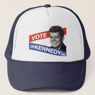JFK Kennedy Election Trucker Hat