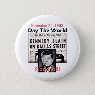 JFK KILLED Button