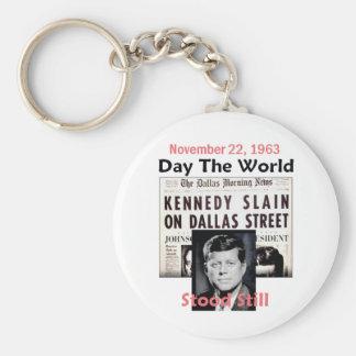 JFK KILLED Keychain