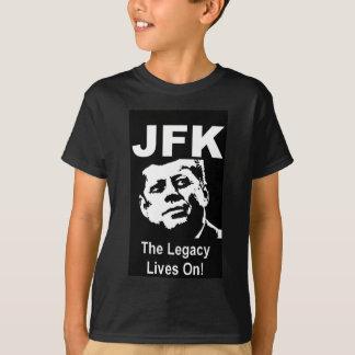 ¡JFK las vidas de la herencia encendido! Playera