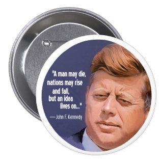 JFK: Las vidas de la idea encendido Pins