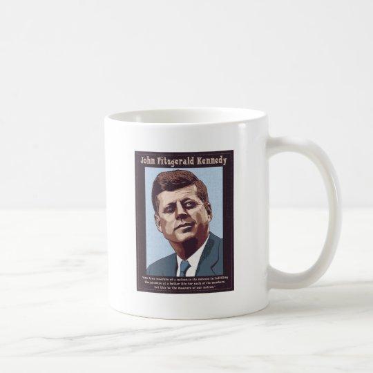 JFK - Measure Coffee Mug
