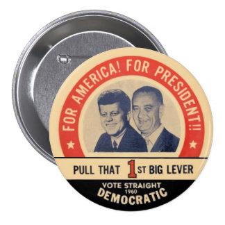 JFK Memorial pin 1960