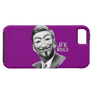 JFK ocuparía Wall Street iPhone 5 Case-Mate Coberturas