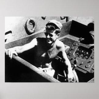 JFK on PT-109 Poster