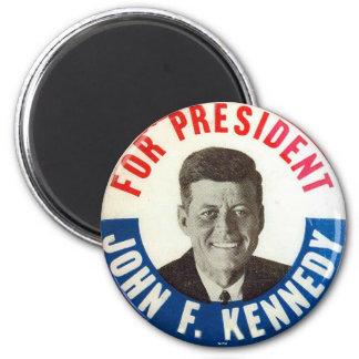 JFK para el presidente - imán