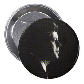 JFK para siempre Pin Redondo De 3 Pulgadas
