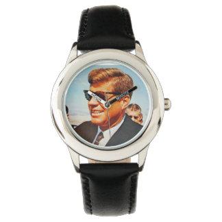 JFK para siempre Relojes De Pulsera