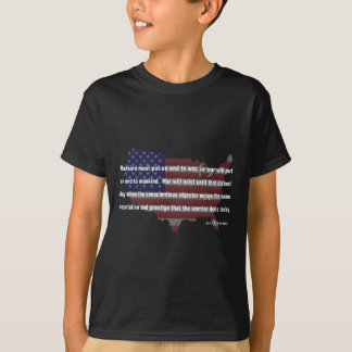 JFK Peace Quote T-Shirt