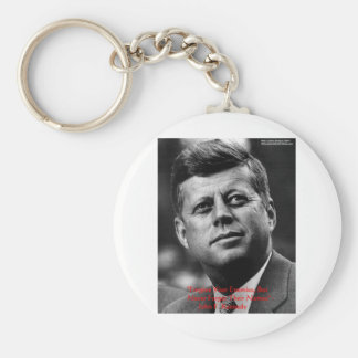 """JFK """"perdonan para no olvidar"""" los regalos y la ta Llavero Redondo Tipo Pin"""
