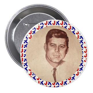 JFK PIN REDONDO 7 CM