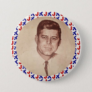 JFK PINBACK BUTTON