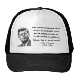JFK Quote 2b Mesh Hats