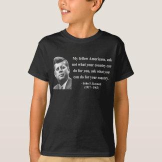 JFK Quote 3b T-Shirt