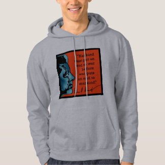 JFK Quote About War Hoodie