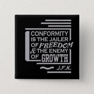 JFK quote button