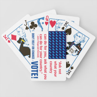JFK Quote Playing Cards