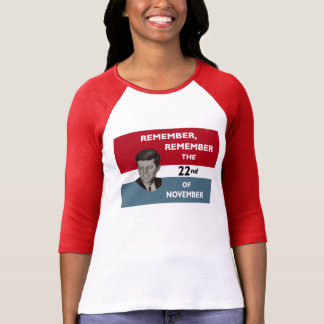 JFK Remembered T-Shirt