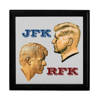 JFK & RFK Profiles Gift Box