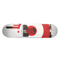 JFK skateboard deck