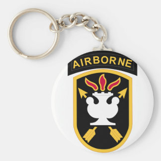 JFK Special Warfare Center Keychain