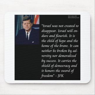 JFK y cita famosa con referencia a Israel Alfombrilla De Raton