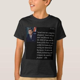 JFK y cita famosa con referencia a Israel Playera