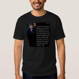 JFK y cita famosa con referencia a Israel Poleras