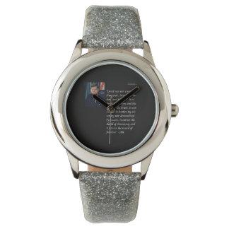 JFK y reloj famoso de la cita de Israel