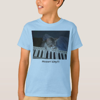 jfu 254, mozart kitty!, Mozart kitty!!! T-Shirt