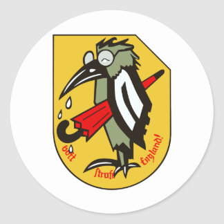 JG 51 Mölders Classic Round Sticker