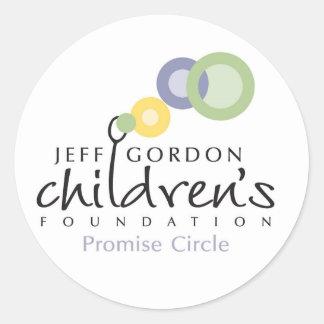 JGCF Promise Circle Stickers Round Stickers