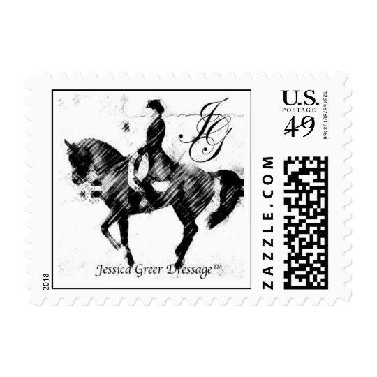 JGD Logo Postage Stamp