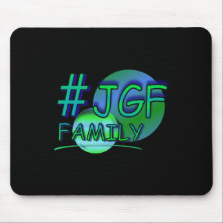 #JGF Family Black Mousepad