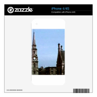 jGibne de la iglesia Art1a snap-40380 de Escocia Calcomanía Para El iPhone 4