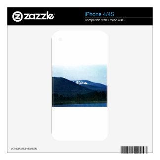 jGibne del arte snap-36518 de las montañas de Calcomanías Para El iPhone 4