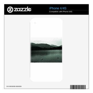 jGibne del arte snap-36648 de las montañas de iPhone 4S Skins